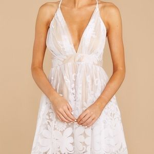 NWT Best Thing I Never Had White Dress